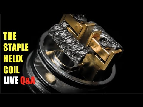 LIVE: How to Build a Staple Helix Coil | REVISITED
