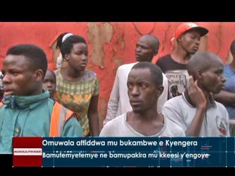 Omuwala attiddwa mu bukambwe e Kyengera