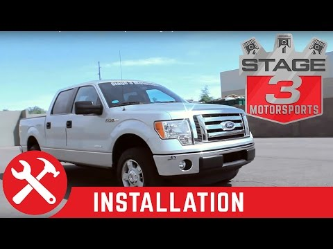2011 F-150 EcoBoost Project Truck BBK Throttle Body and aFe Charge Pipe Install