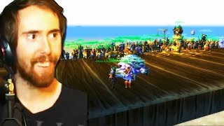 Asmongold Forms the BIGGEST RAID to Defeat the HARDEST WORLD BOSS (Classic WoW Beta)