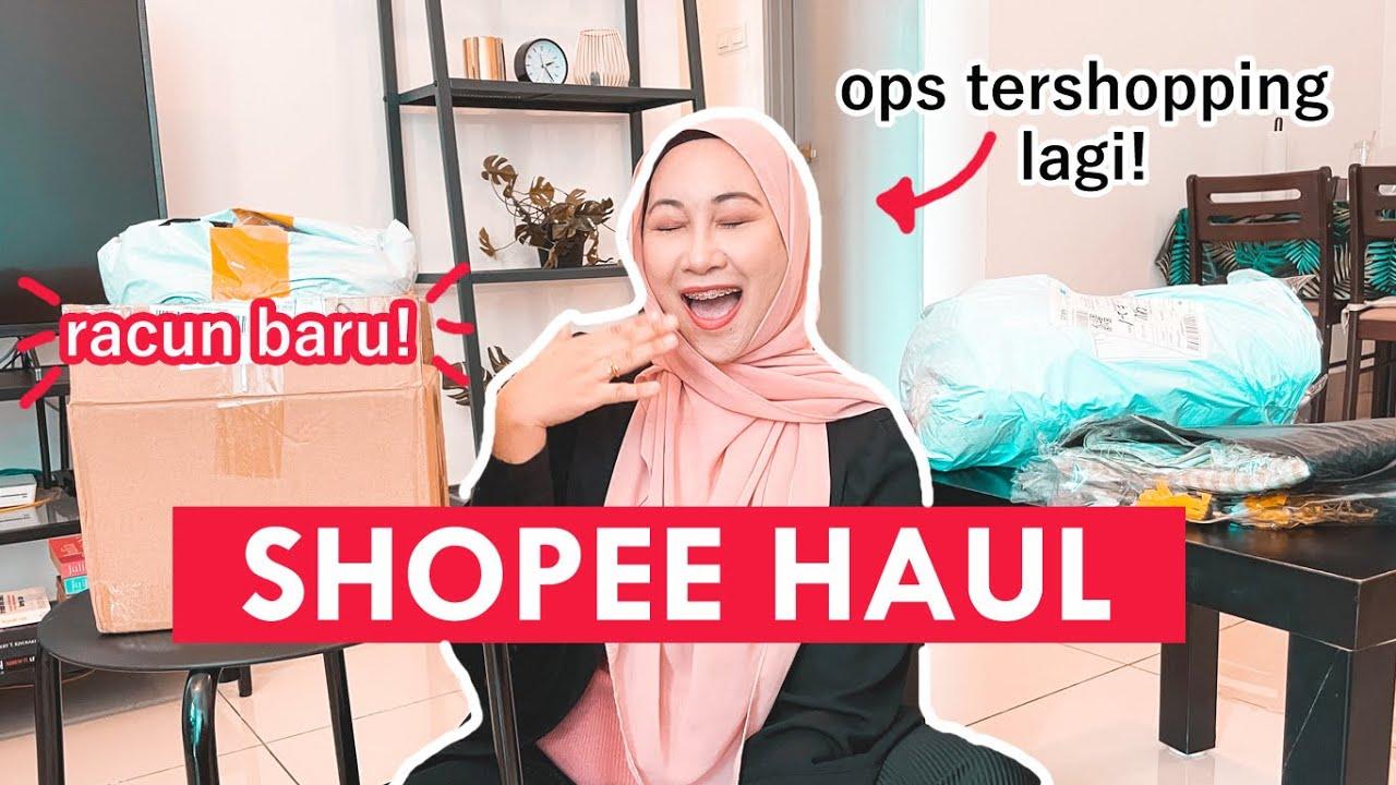 SHOPEE HAUL : I beli barang untuk projek deko rumah 😍