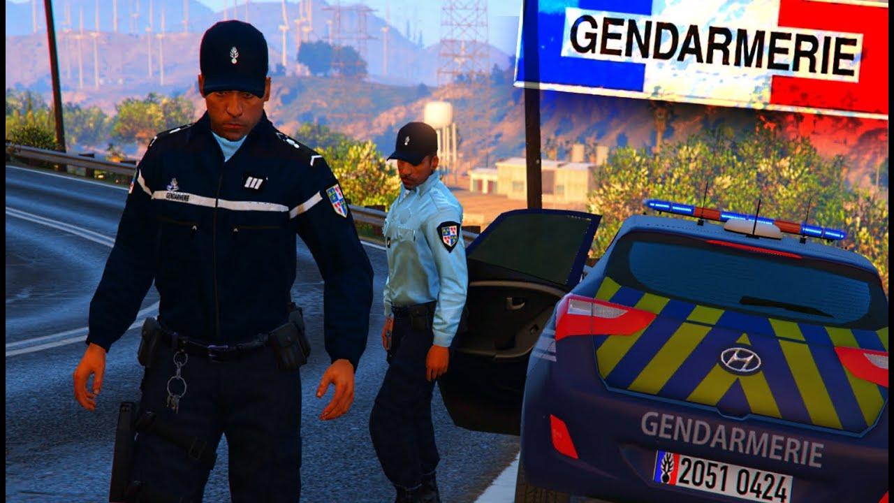 gta 5   la gendarmerie est de retour