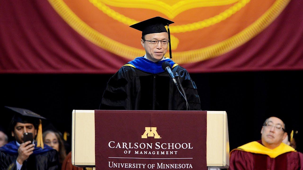 Eric Jing, 2017 Commencement Keynote Speaker - Carlson School