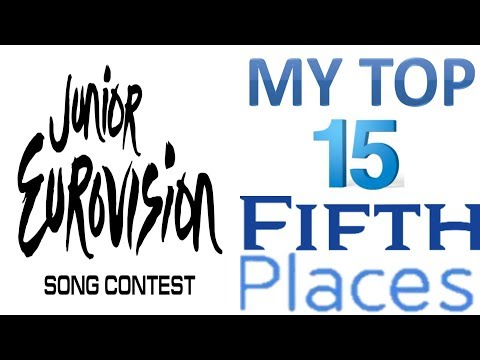 Junior Eurovision 2003 - 2017:My Top 15 Fifth Places
