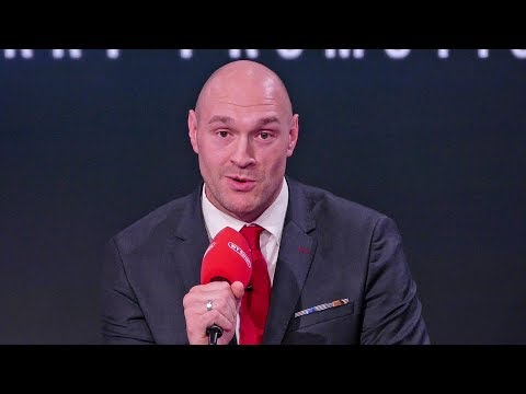 Tyson Fury SHOCKING Announcement NEW PROMOTER & NEW NETWORK!!!