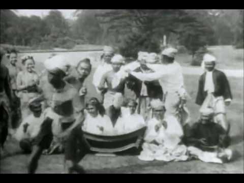 Burmese Naban grappling from Myanmar filmed in 1890