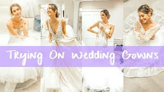 I SAID YES TO THE WEDDING DRESS!👰 Shopping at Kleinfeld Bridal | Lucie Fink