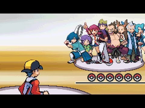 All Gym Battles In Johto!! [Pokemon HeartGold]