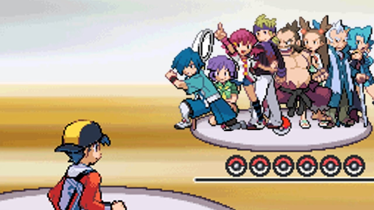 All Gym Battles in Johto!! Pokemon HeartGold Version