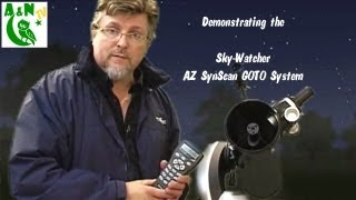 Demonstrating the Sky Watcher AZ SynScan GOTO System