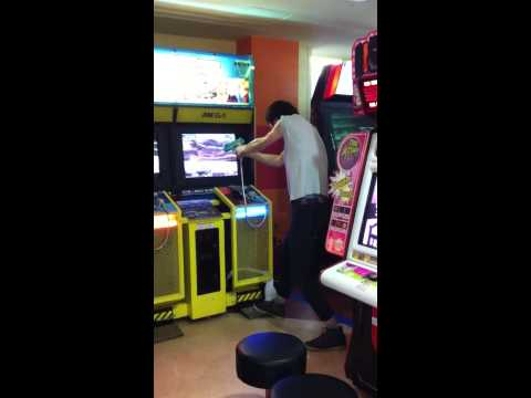 Video took at the game room in S.Korea