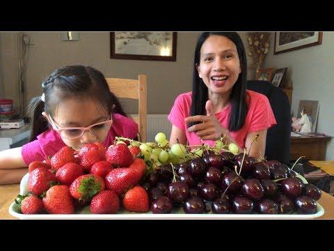 กินเชอรี่แบบสะใจ  คุยกันไปเพลินๆ กับผลไม้มีประโยชน์