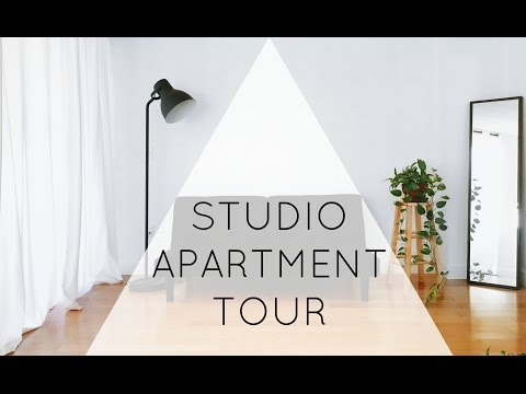 Minimalist Studio Apartment Tour | ZERO WASTE