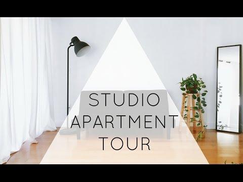 Minimalist Studio Apartment Tour | ZERO WASTE