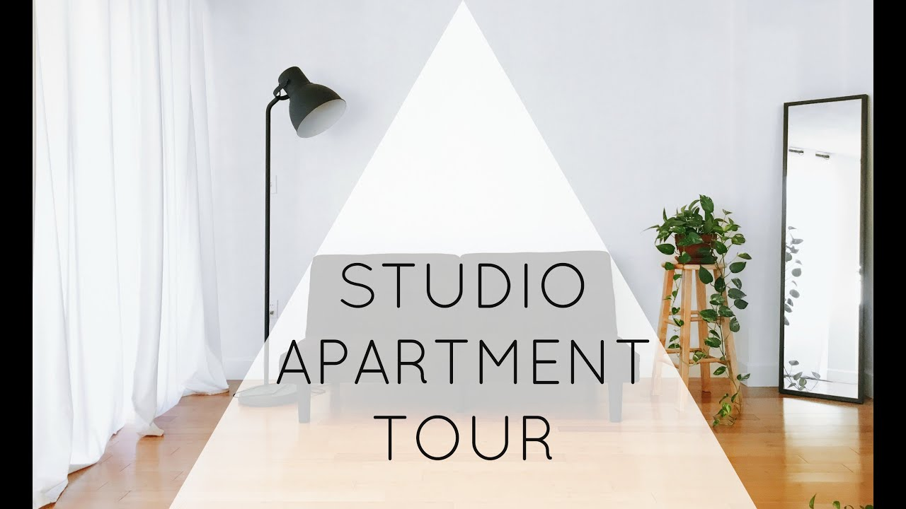 Minimalist Studio Apartment Tour | ZERO WASTE - YouTube