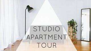 minimalist studio apartment tour zero waste