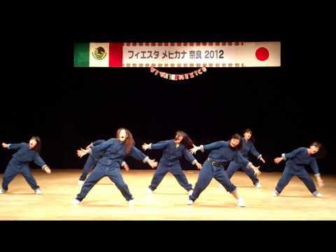 フェイスタメヒカナ奈良2012 一条高校ダンス部