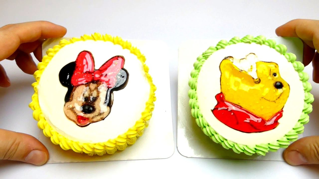 Disney Baby Cake Kiddie Minnie Mouse Winnie The Pooh For Birthday Party