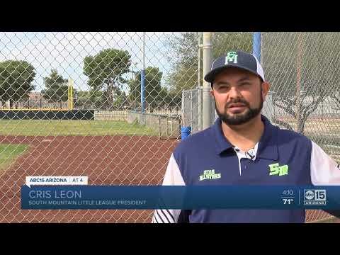 Thieves Target Little League Team In Phoenix.
