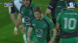 Pack pave way for Kieran Marmion Try - Zebre v Connacht 23rd February 2014