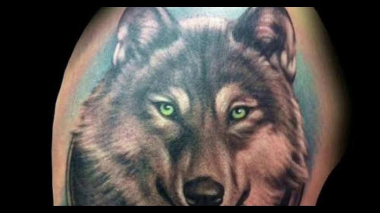 Tatuajes Para Hombres De Lobos Youtube