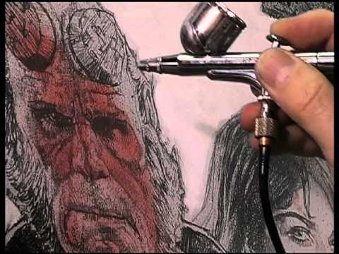 Drew Struzan Conceiving Creating The Hellboy Movie Poster Art
