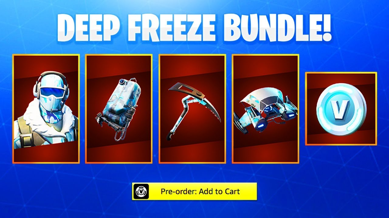 The NEW Fortnite DEEP FREEZE SKIN! (How To Get Deep Freeze ...