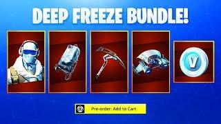 The NEW Fortnite DEEP FREEZE SKIN! (How To Get Deep Freeze Bundle)