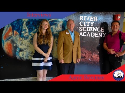 River City Science Academy | Interview with Council Member Aaron Bowman