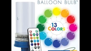 LED Spectrum Balloon Bulb with Jeremy Elder