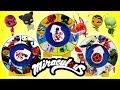 Miraculous Ladybug Spinning Wheel Game - Heroes Kwamis Villains Compilation