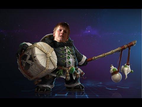 Школьник учит играть в Heroes Of The Storm#1 - Чэнь