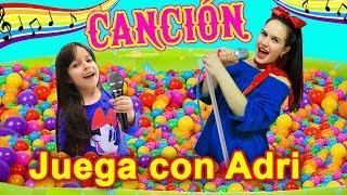 Baila con Adri - CANCION de Juega con Adri | Kids Song