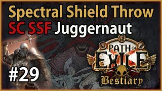 Act 8: Solaris & Lunaris - SST Juggernaut #29 - Let's Play Path of Exile 3.2: SC SSF Bestiary League