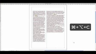 InDesign CS5 Ajuste automático de cajas de texto