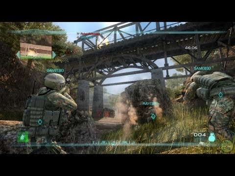 Tom Clancy's Ghost Recon Advanced Warfighter 2 - Gameplay [Xbox ...