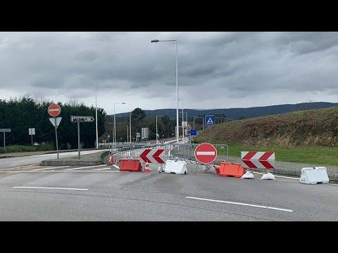 Ferme causa covid le frontiere fra Spagna e Portogallo, economia in sofferenza