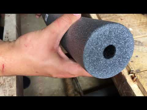 How To Insulate A Suspended Floor And Wrap Central Heating Pipes