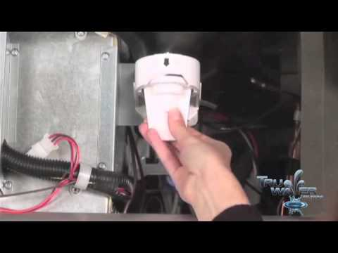 how to replace your ge mwf smartwater fridge water filter -