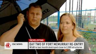 CBC News Network Ian Hanomansing speaks with Fort McMurray returnees