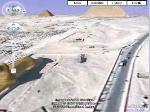 Pyramids In Egypt Map.A Google Earth Virtual Trip To Giza Pyramids In Egypt Youtube