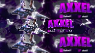 Fortnite Banner - Speedart by Distortion! NOT FREE