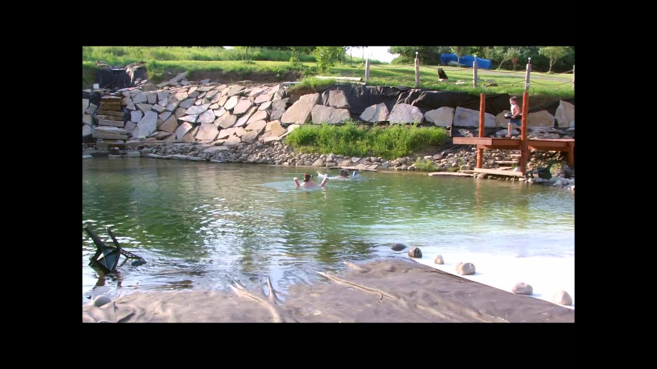 10 Building Your Own Private Beach Swimming Pond July