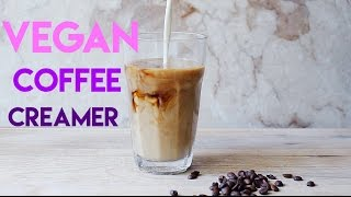 Homemade vegan coffee creamer 3 ways // MoreSaltPlease
