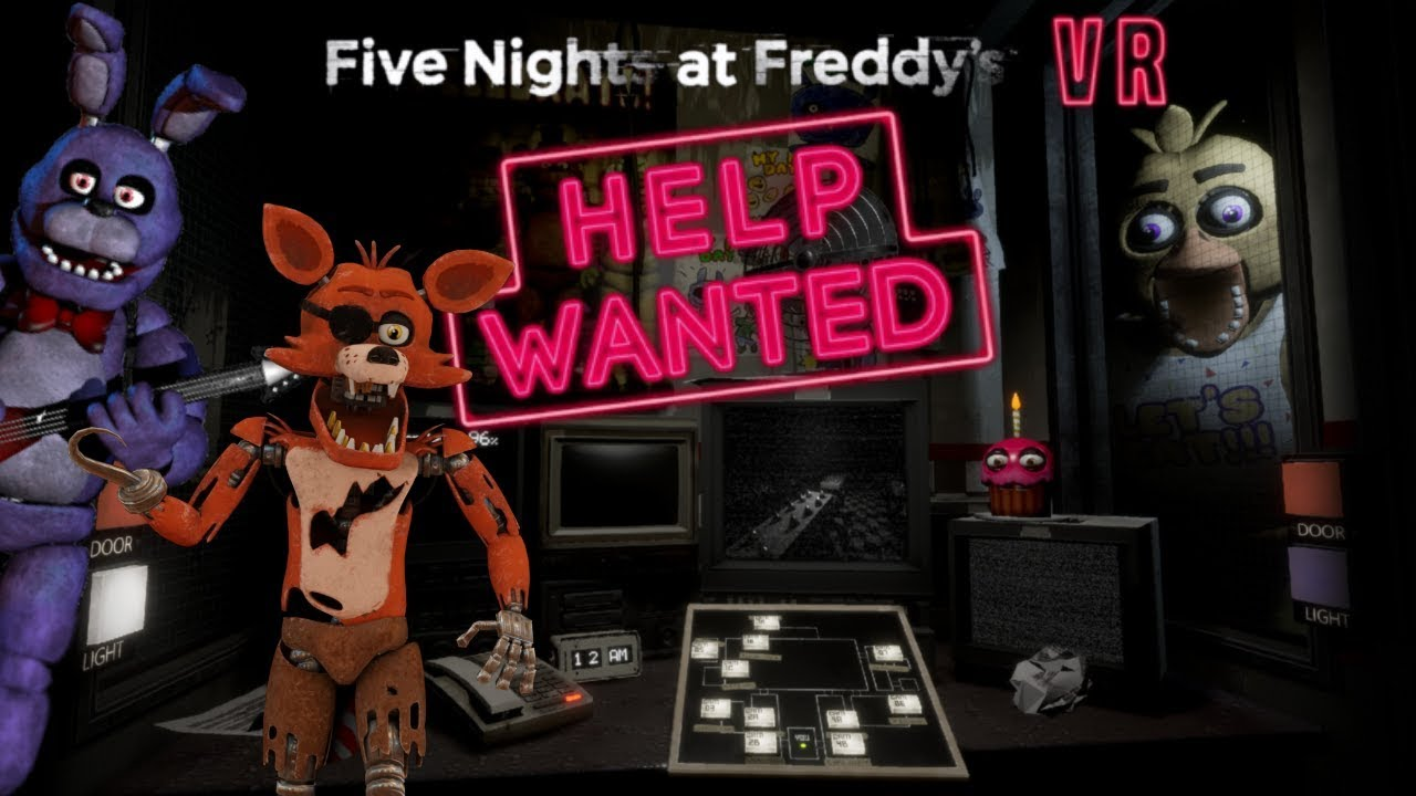 Five Nights at Freddy VR Help Wanted Night 1-2