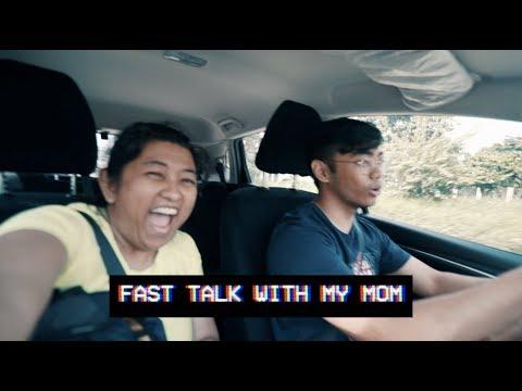 FAST TALK WITH MY MOM   Kali Vidanes