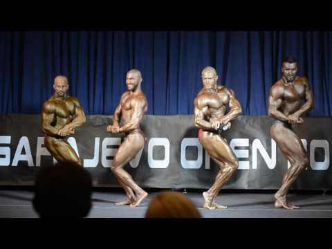 Apsolutna kategorija bodybuilding - Sarajevo Open 2017