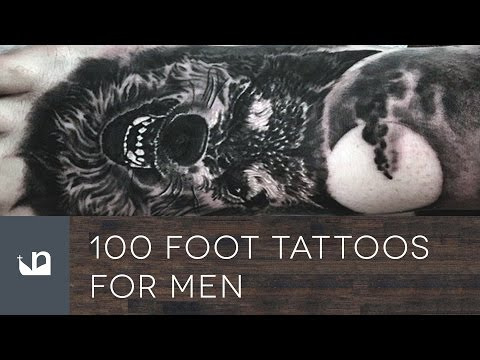 100 Foot Tattoos For Men