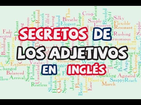 Secretos de los Adjetivos en Inglés