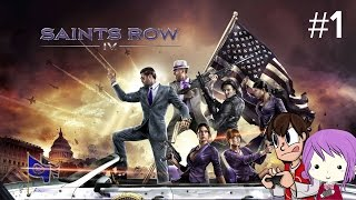 Saints Row IV | Epi 1 | Stay tuned..for the Beginning